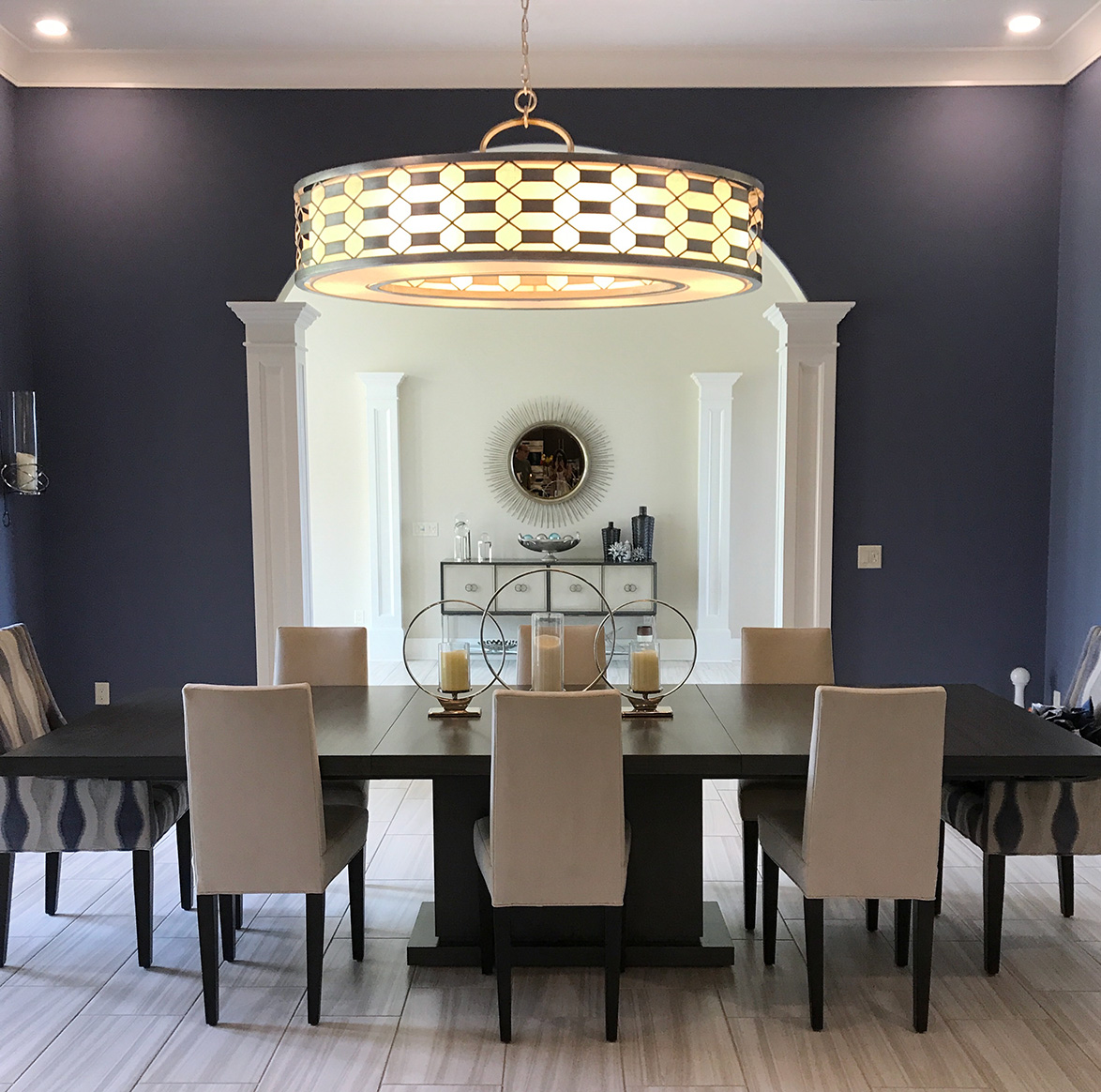 Superbe Dining Room Interior, By Anne Marie Weissend, Design Associates. We Are A  Full