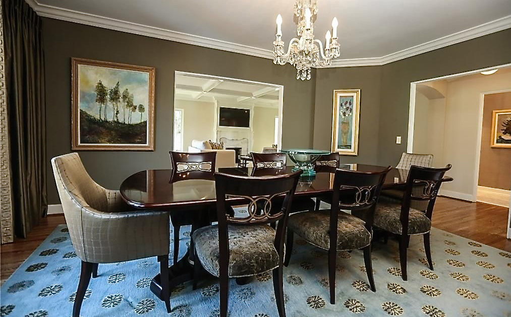 Dining Room Interior, By Anne Marie Weissend, Design Associates. We Are A  Full
