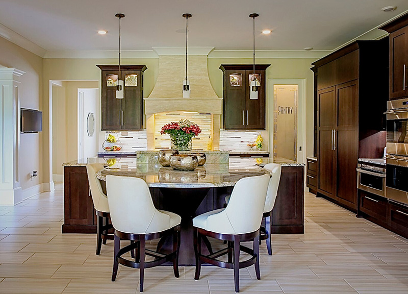 Kitchen Interior, By Anne Marie Weissend, Design Associates. We Are A Full