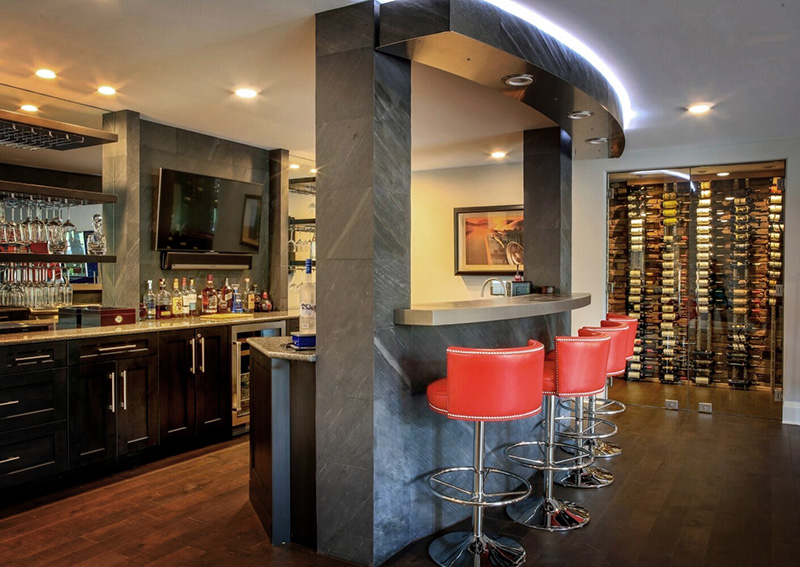 Wine Bar Interior, By Anne Marie Weissend, Design Associates. We Are A Full